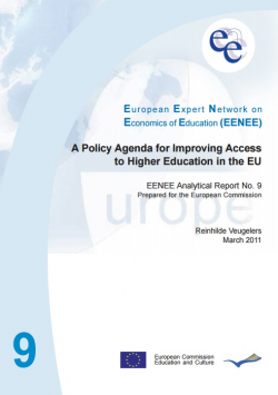 A policy agenda for improving Access to higher education in the EU. Analytical report for the European Comission